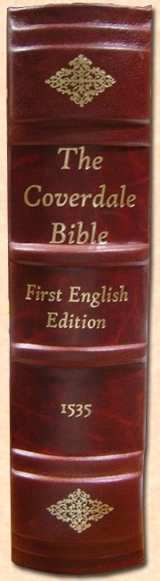 1535 Coverdale Bible:Deluxe Binding [Limited Edition]