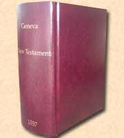 1557 Geneva New Testament Facsimile Reproduction