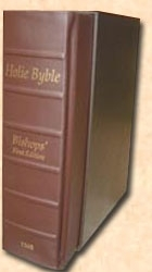 1568 Bishops' Bible: First Edition Facsimile Reproduction