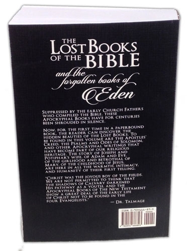 The Lost Books of the Bible  and the Forgotten Books of Eden [2017 New Edition]