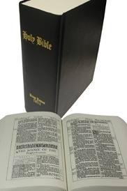 1611 King James Bible [Black]...The First Edition of  the King James Bible