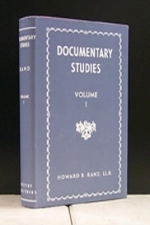 Documentary Studies Vol. I