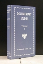 Documentary Studies Vol. II