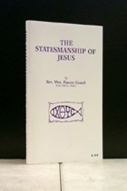 The Statesmanship Of Jesus