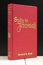 Study In Jeremiah- [Howard Rand]