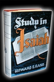 Study in Isaiah - [Howard Rand 1955]