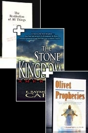 Restitution of all Things Olivet Prophecies Stone Kingdom