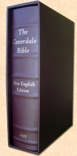 1535 Coverdale [1st Printed English Bible]Facsimile Reproduction
