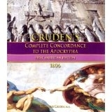 Cruden\'s Complete Concordance To The Apocrypha [circa 1806]