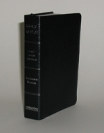 "KJV Holy Bible ""SMALL COMPACT REFERENCE"" [4.5"" x 6.5"" ] BONDED LEATHER"