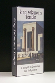 King Solomon's Temple (VHS - VIDEO) [Capt] ...A Study of its Symbolism