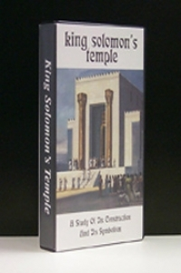 King Solomon\'s Temple (VHS - VIDEO) [Capt] ...A Study of its Symbolism