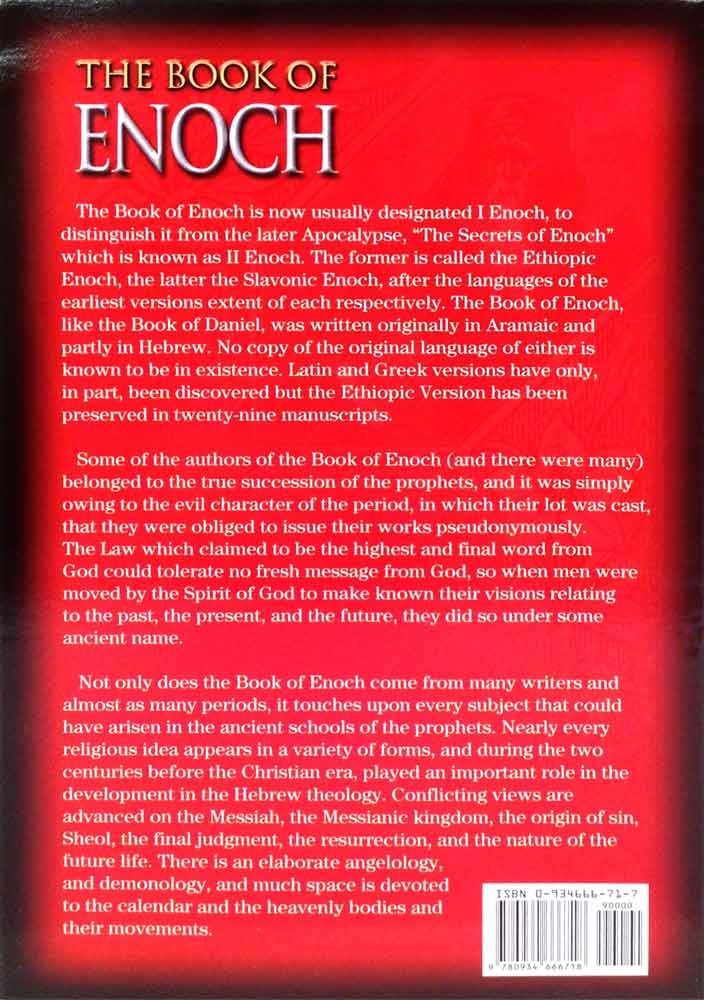 The Book Of Enoch (Enoch l Richard Laurence Translation New Revised  Biblical Format    Available on Kindle