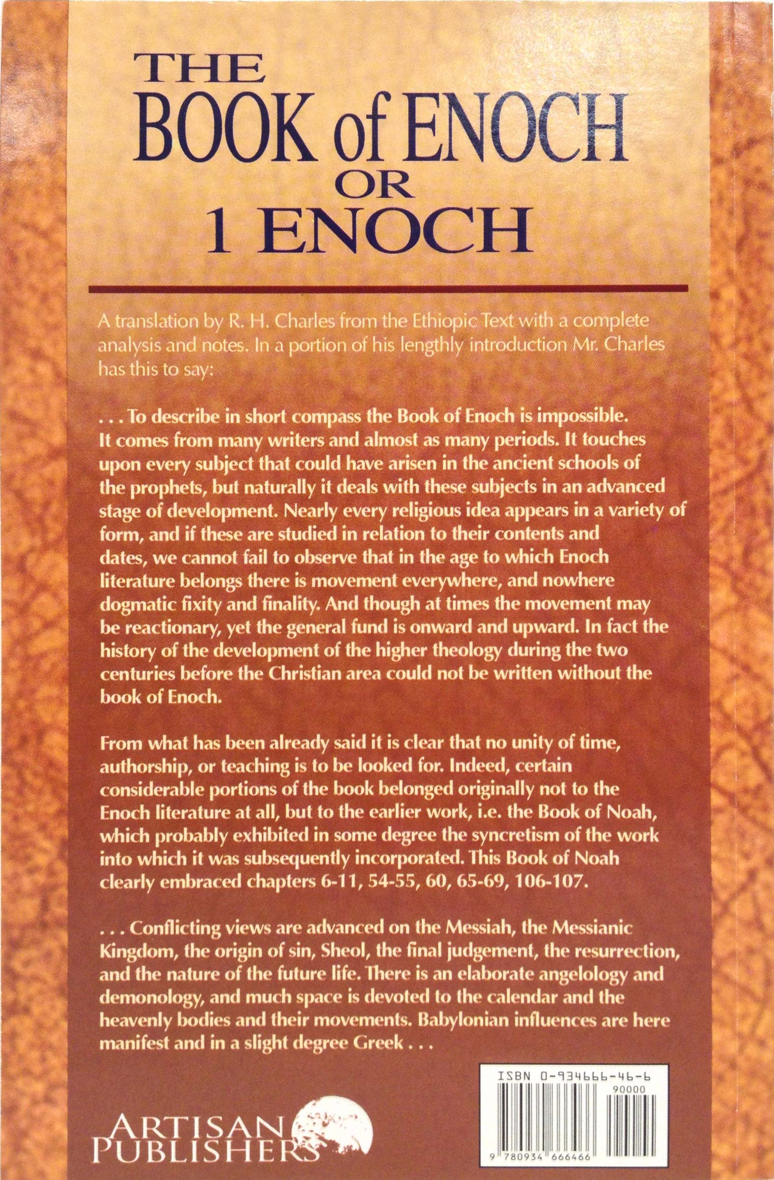 Is the book of Enoch sacred writing? | United Church of God
